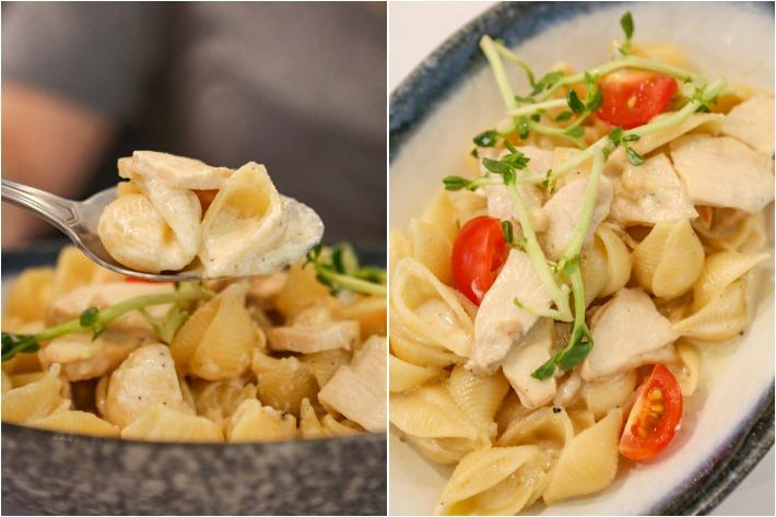 4+U Lumoconi Chicken Pasta Collage