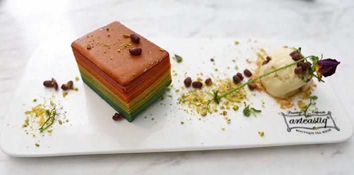 Arteastiq Bistro Rainbow Kueh Lapis