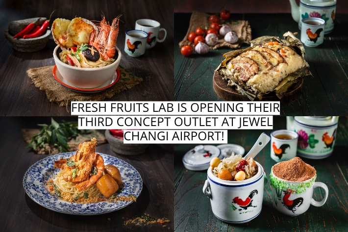 FRESH FRUITS LAB COLLAGE