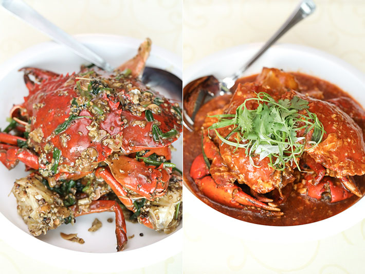 Dragon Bowl Crabs