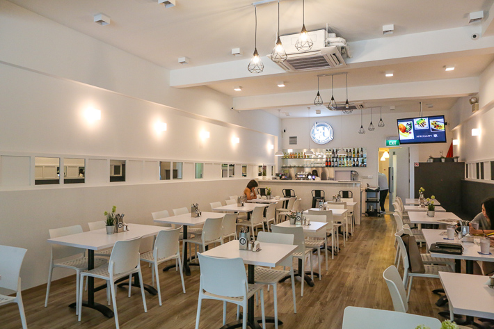 4+U Bar and Kitchen Interior