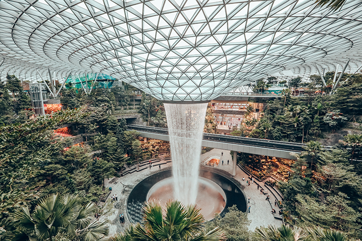Jewel Changi Rain Vortex 3