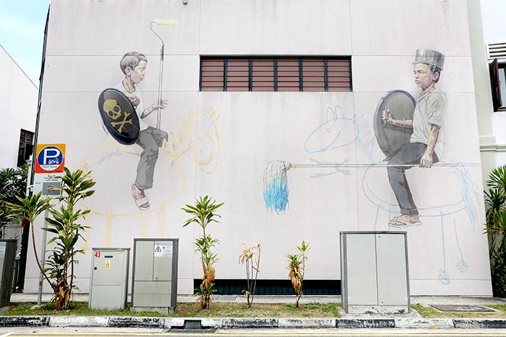 Joo Chiat Jousting Painters