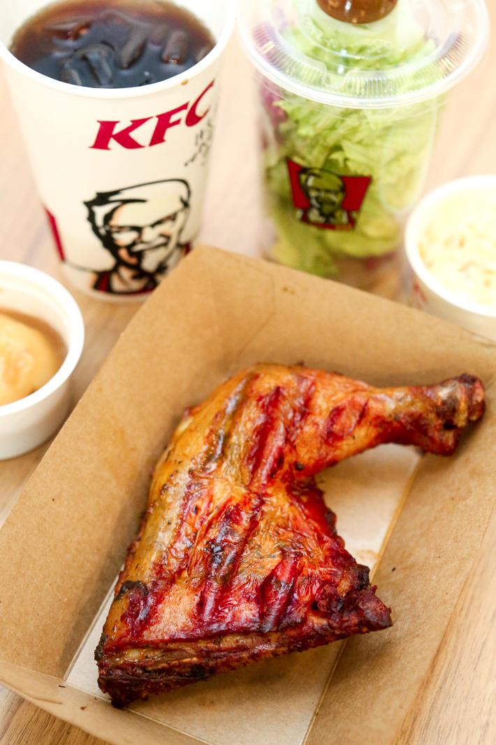 KFC HOTBLAZE GRILLED CHIKCEN SET