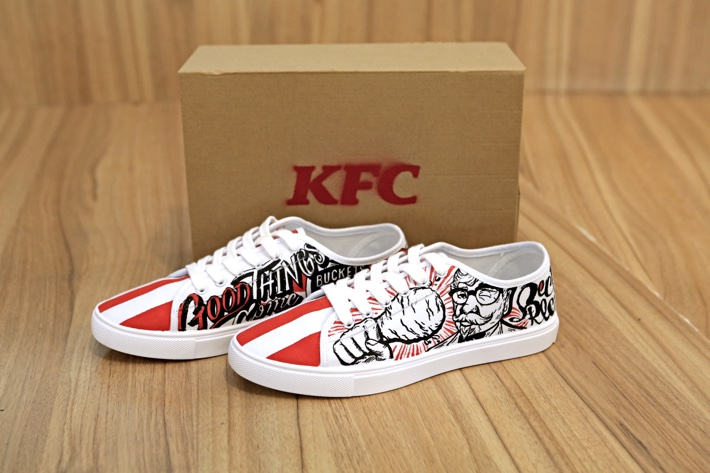 KFC LIMITED EDITION SHOES