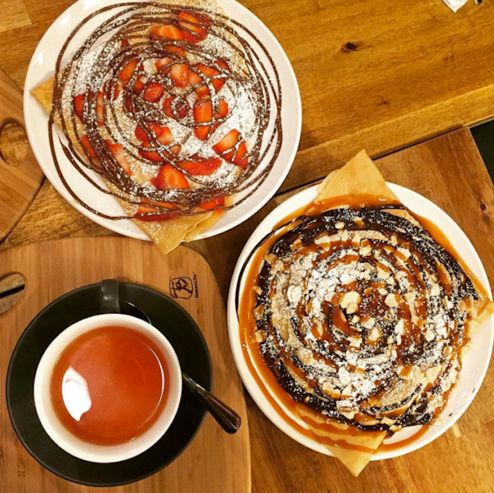 Roule Galette Melbourne Chocolate Crepes
