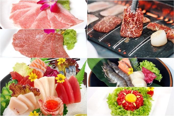 Tenkaichi Japanese Barbeque Restaurant Collage