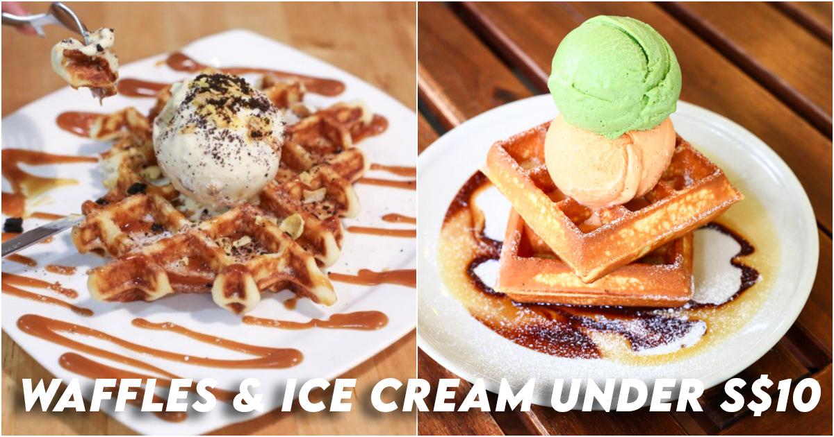 Waffle Ice Cream Cafes