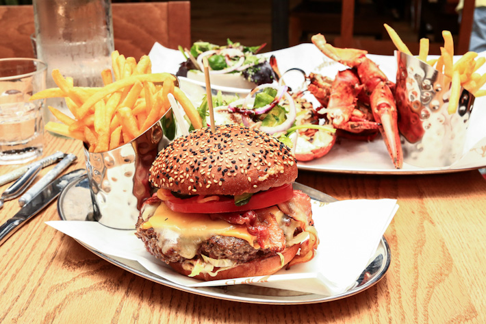 Burger & Lobster Mayfair Burger