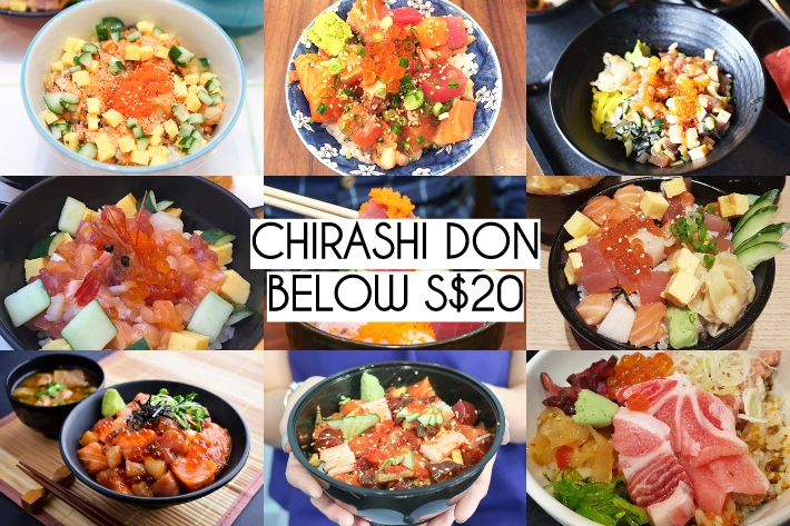 CHIRASHI DON COLLAGE