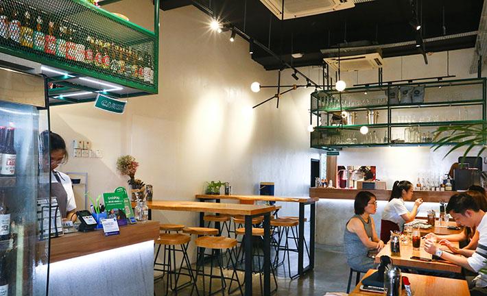 Dual Cafe Interior