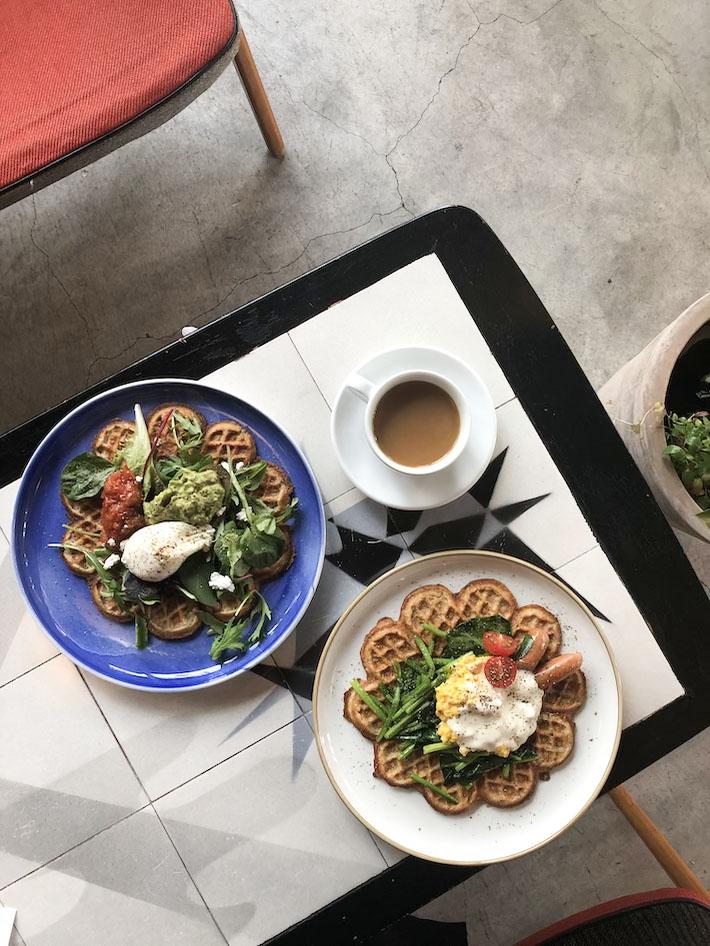 Fuglen Asakusa Norwegian Waffles