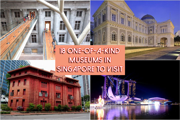 Museums in Singapore Collage