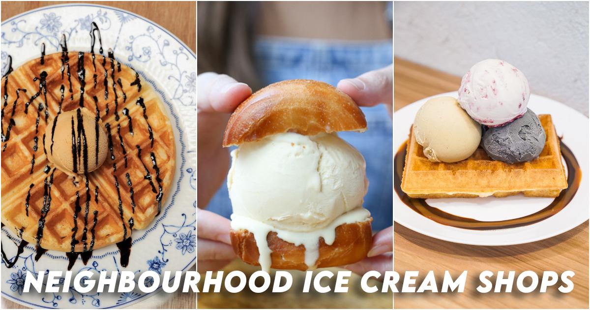 Neighbourhood ice cream shops