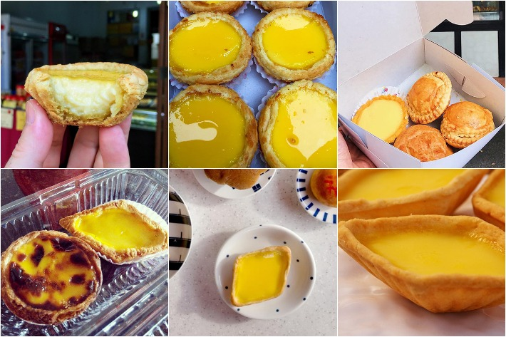Old School Egg Tarts