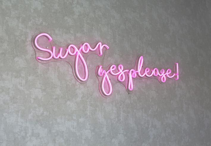 Sugar Thieves neon sign