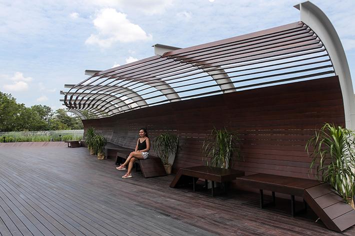 Seats Jurong Lake Gardens