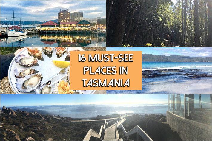 Tasmania Collage