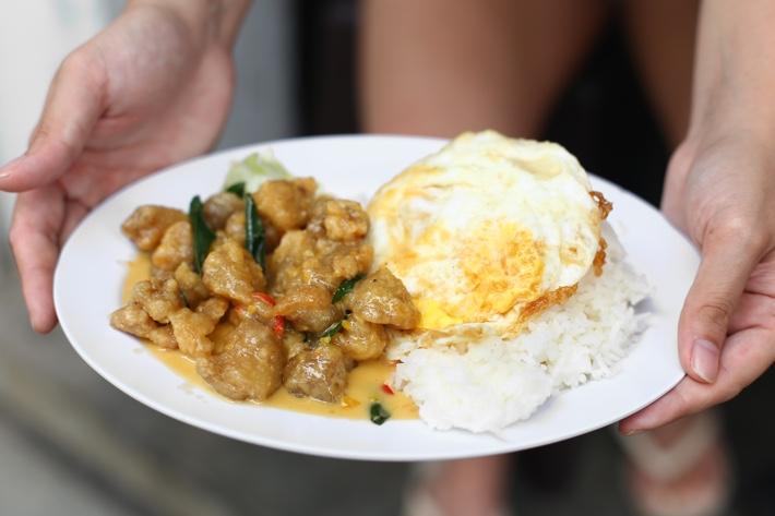 GLC Restaurant Salted-Egg-Chicken-Dice-Rice-