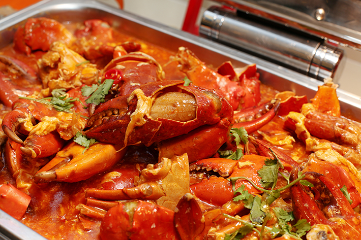 Ginger Singapore Chilli Crab