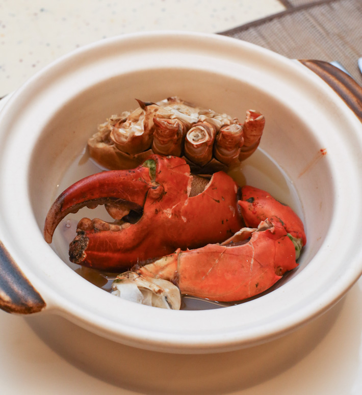 Herbal Claypot Crab Ginger