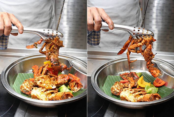 J65 Buffet Tandoori Crab