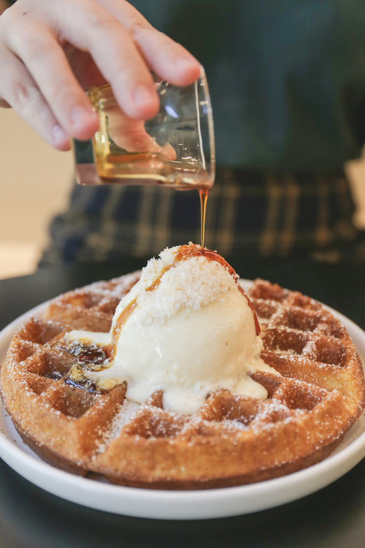 Olla Specialty Coffee Ondeh Ondeh Waffles