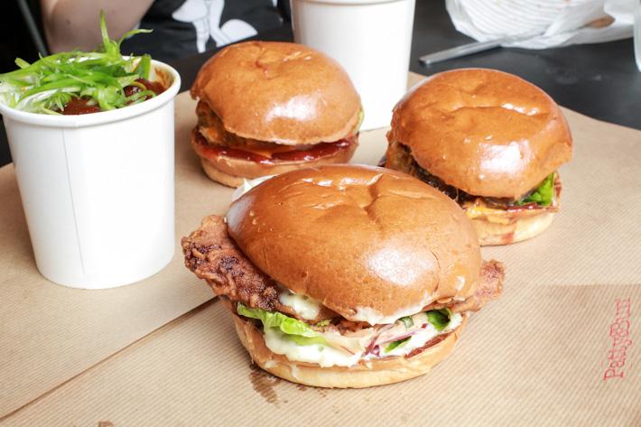 Patty & Bun Chicken Burger
