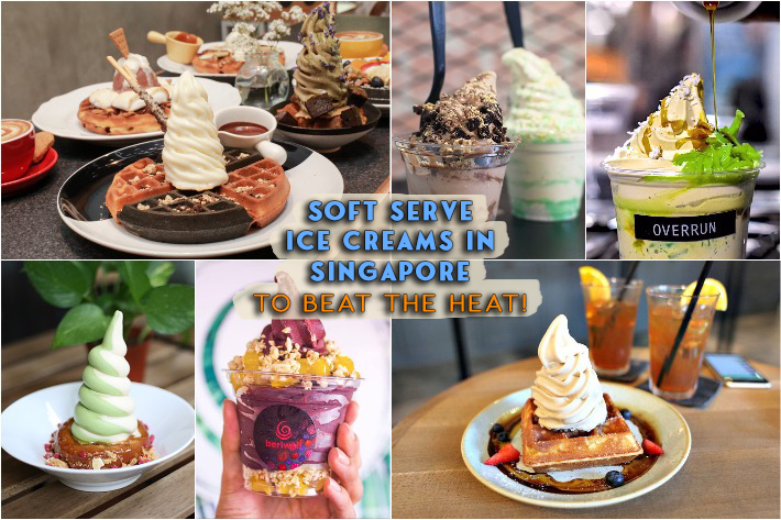 Soft Serve Ice Creams In Singapore Collage