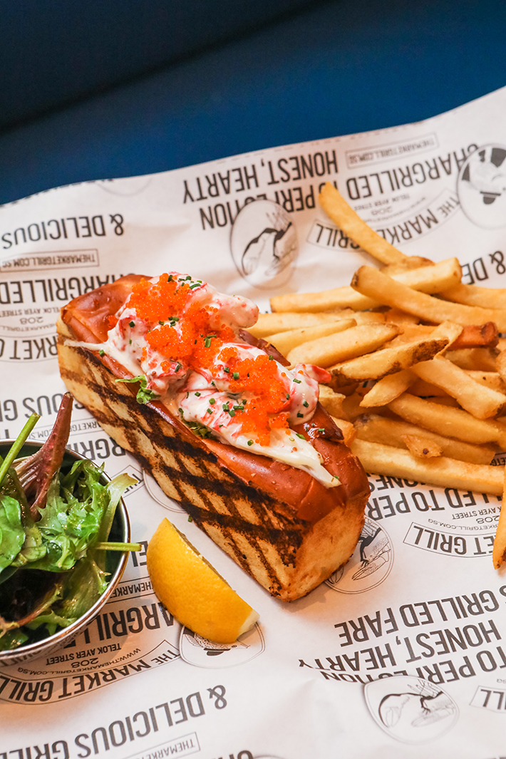 The Market Grill Lobster Roll