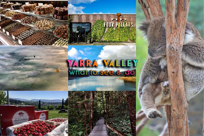 Yarra Valley collage