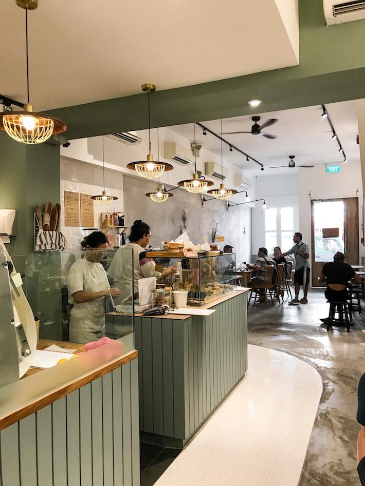 Baker's Bench Bakery Interior