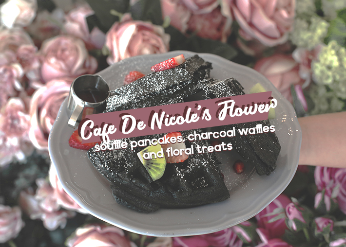 COVER cafe de nicole's flower