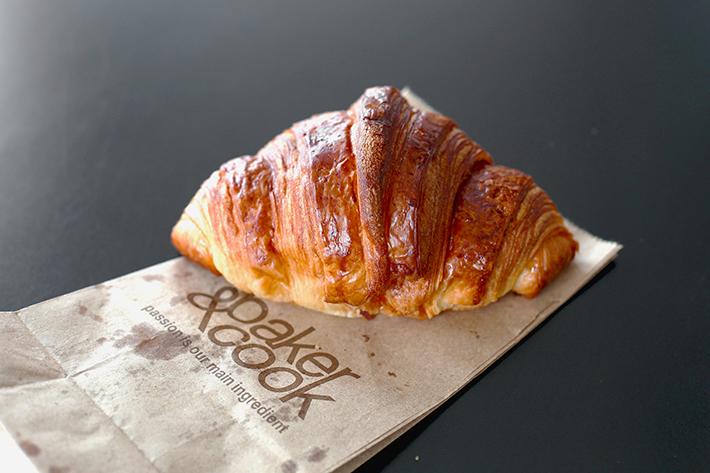 Baker & Cook Croissant shot