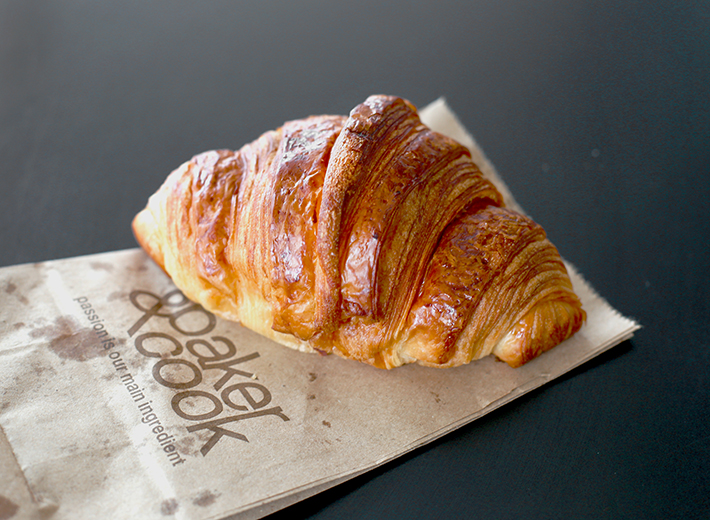Baker & Cook Croissant Shot Outside