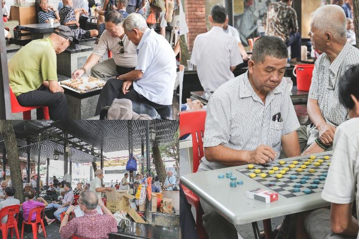 Chinatown Elderly Corner