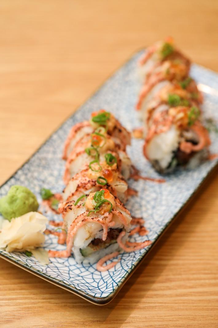 En Sushi Aburi Mentai Maki