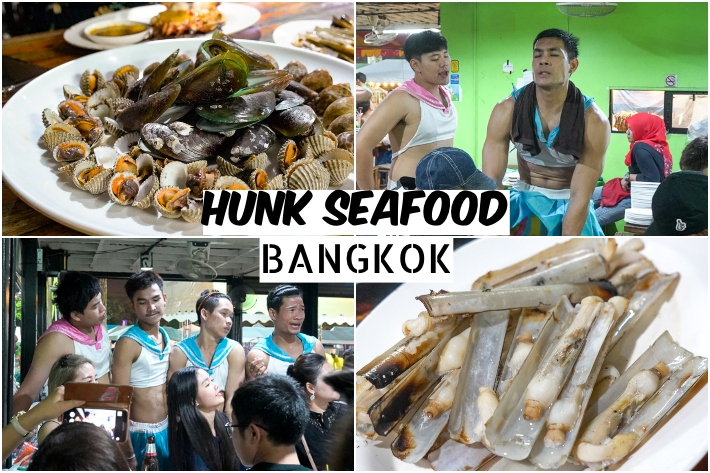 HUNK SEAFOOD BANGKOK COLLAGE