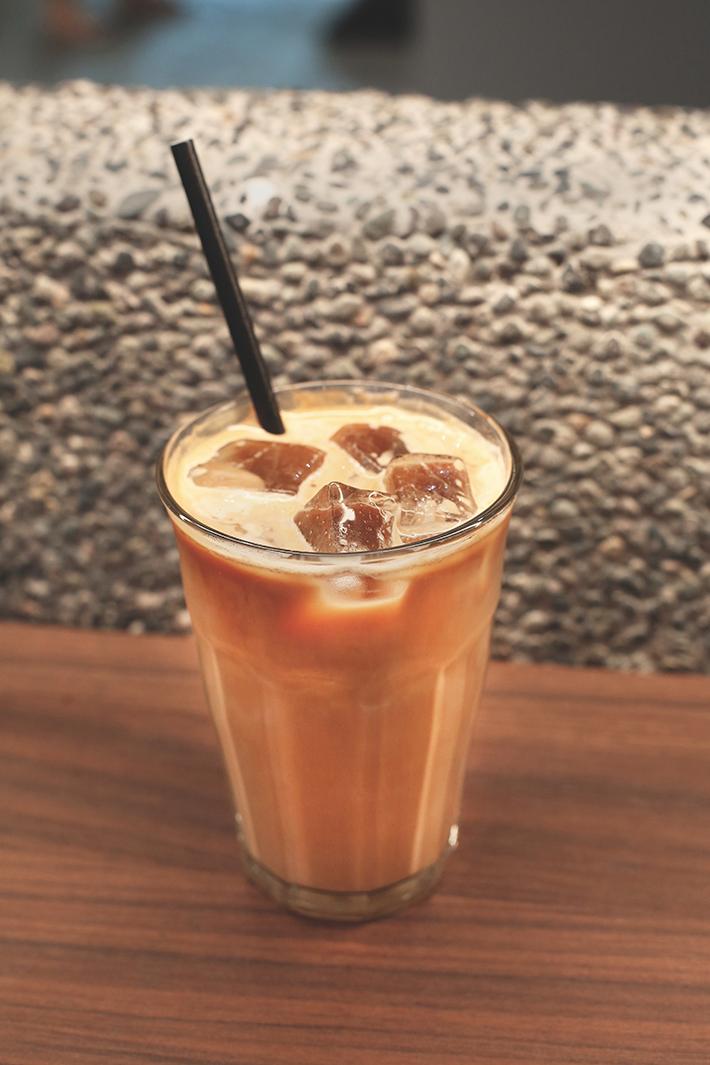 Iced Latte PPP Coffee by Papa Palheta