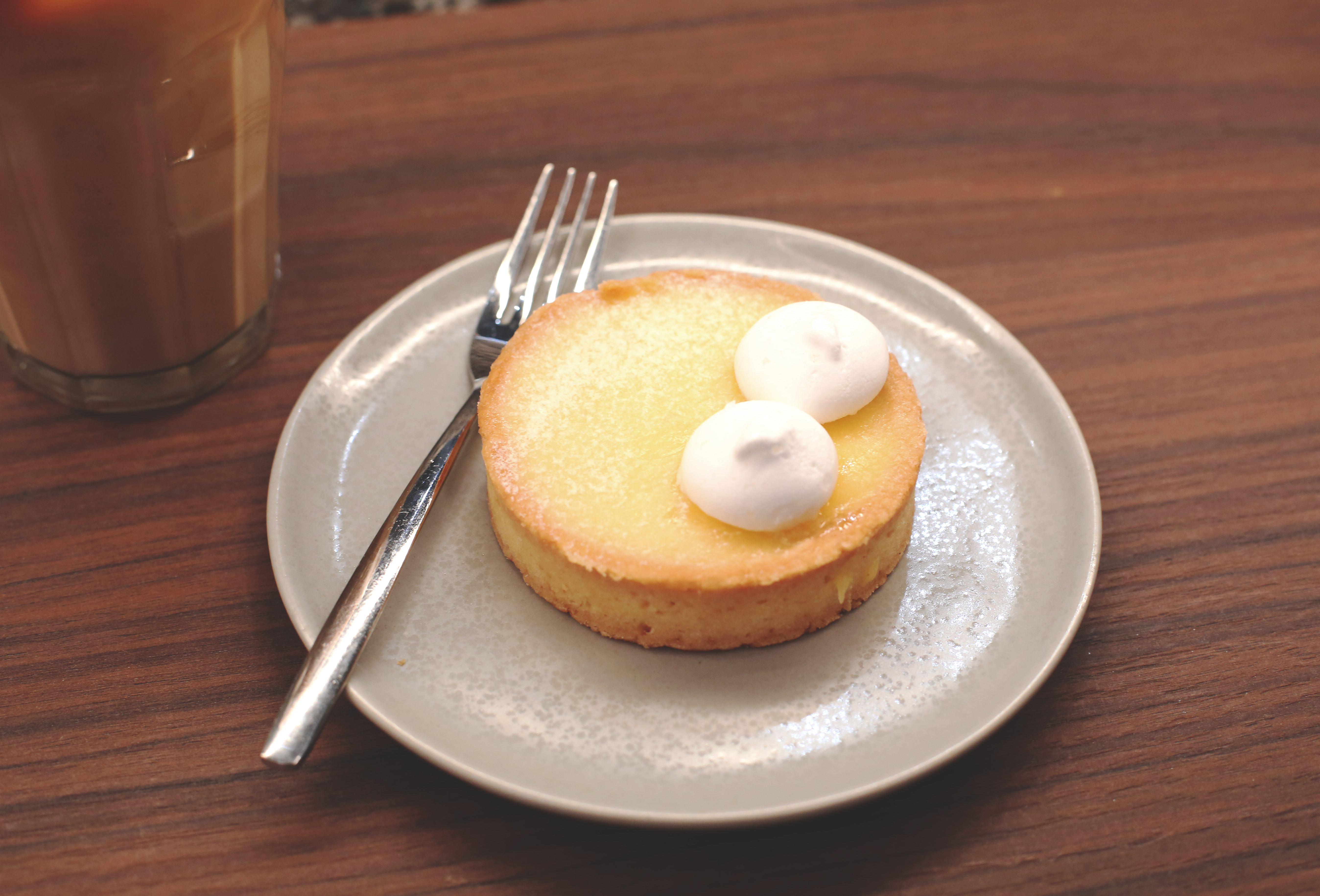 Lemon tart ppp coffee by papa palheta