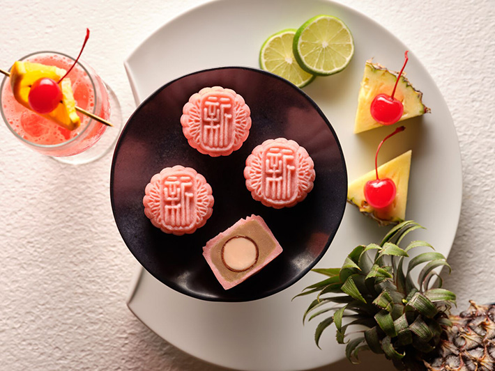 Singapore Sling Xin Cuisine Mooncakes