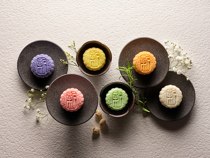 cover image Xin Cuisine Mooncakes