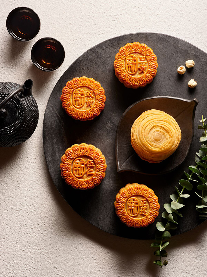 signature collection Xin Cuisine Mooncakes