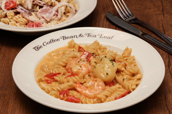 Coffee Bean Seafood Pasta