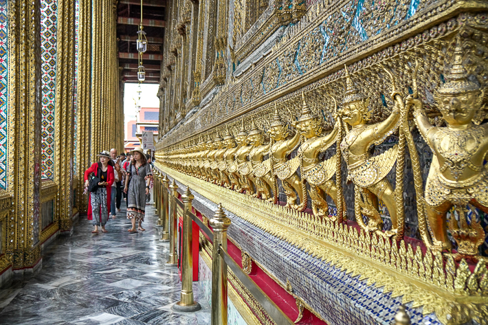 Grand Palace Bangkok Aisle