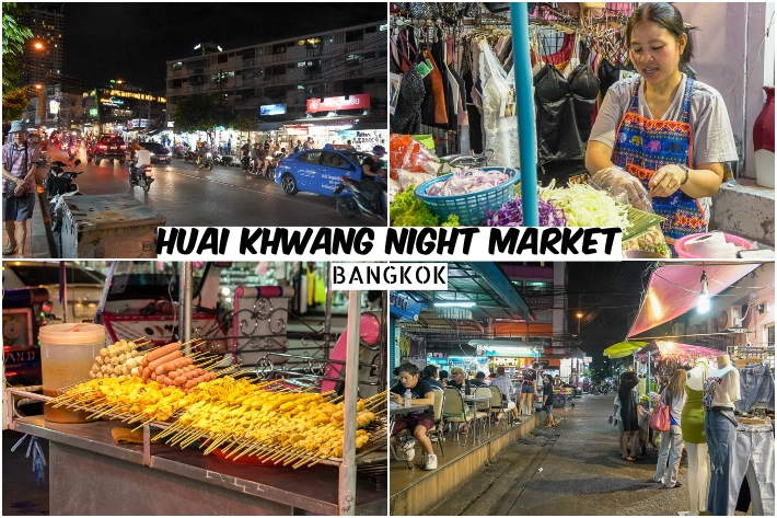 HUAI KHWANG NIGHT MARKET COVER