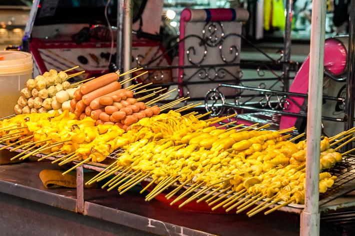 Huai Khwang Street Food