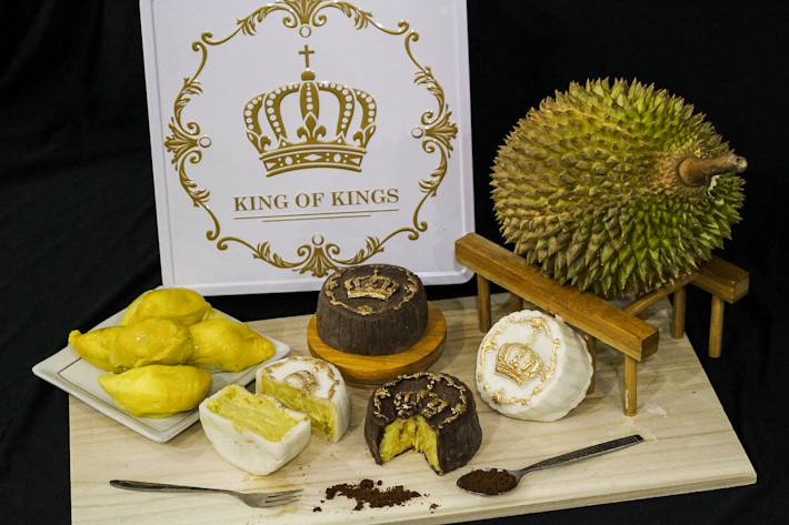 King of Kings Durian Snowskin Mooncakes