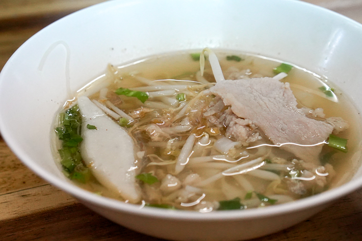 LUNG PRATHUNAM BOAT NOODLES CLEAR SOUP