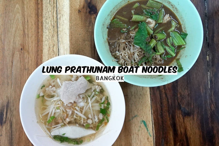 LUNG PRATHUNAM BOAT NOODLES COVER